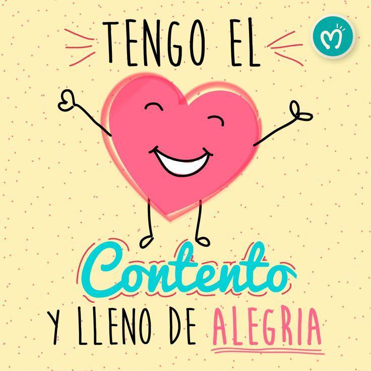 Tengo el corazón contento y lleno de alegría. #Regalos #Love #Migas #FábricadeSueños