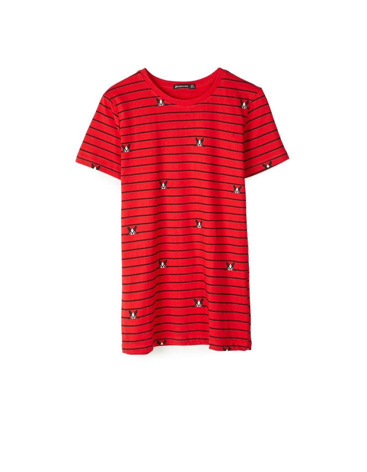 Camiseta figurativos - Camisetas   Stradivarius Colombia