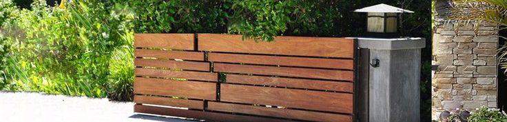 25 best ideas about portail bois on pinterest portail exterieur cloture t - Portail pour maison pas cher ...