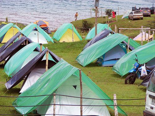 Restaurante Zona de Camping Lago Calima Berlín, Calima El Darién, Valle del Cauca