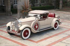 1929 Packard 640 Custom Eight Roadster, ist sie nicht eine Schönheit?   – Old cars