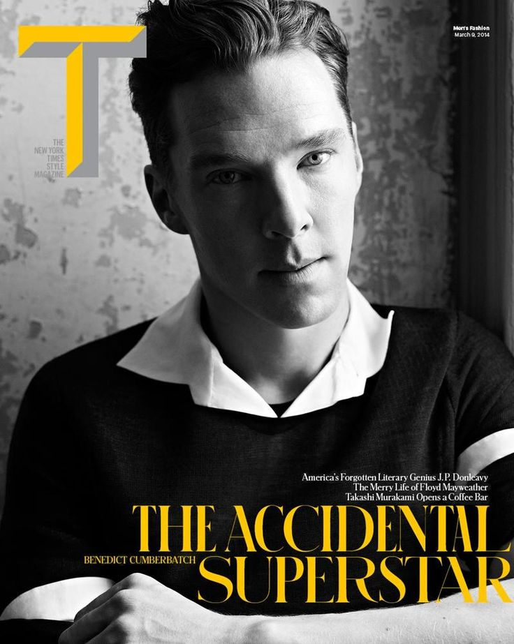 The New York Times Style Magazine March 9, 2014 Cover: THE ACCIDENTAL SUPERSTAR (The New York Times Online)