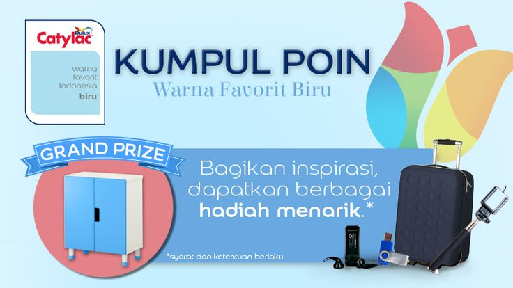 Kumpul Poin Warna Favorit Biru