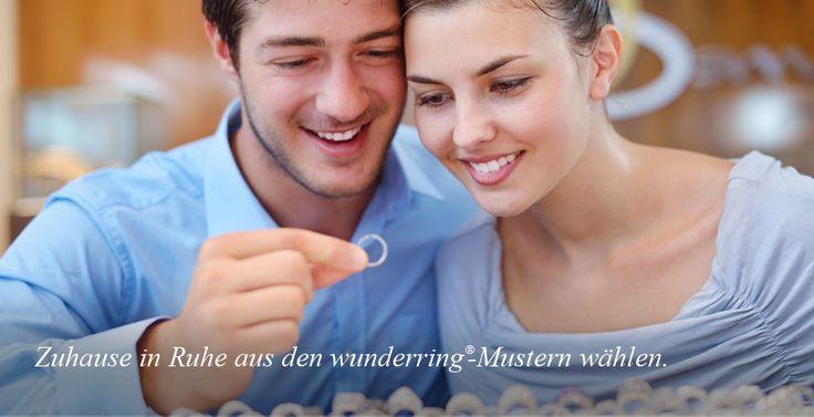Eheringe & Trauringe gesucht? Mit wunderring® die Auswahl der Eheringe zu einem besonderen Erlebnis machen! 1. Lieblings-Ringe kostenlos als Muster nach Hause anfordern 2. Zuhause entspannt gemeinsam ausprobieren, auswählen und die Ringgrößen messen 3. Die Ringe fürs Leben über wunderring.de in Trauringqualität bestellen 4. Die Hochzeit genießen und sich ein Leben lang über die tollen Ringe und die damit verbundenen Erinnerungen freuen. Hier geht es zur Auswahl: https://www.wunderring.de