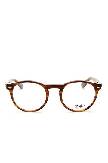 Ray Ban Men's Striped Brown Acetate Eyeglasses by MJG Trading on @HauteLook