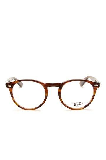 Ray Ban Men's Striped Brown Acetate Eyeglasses by MJG Trading on @HauteLook
