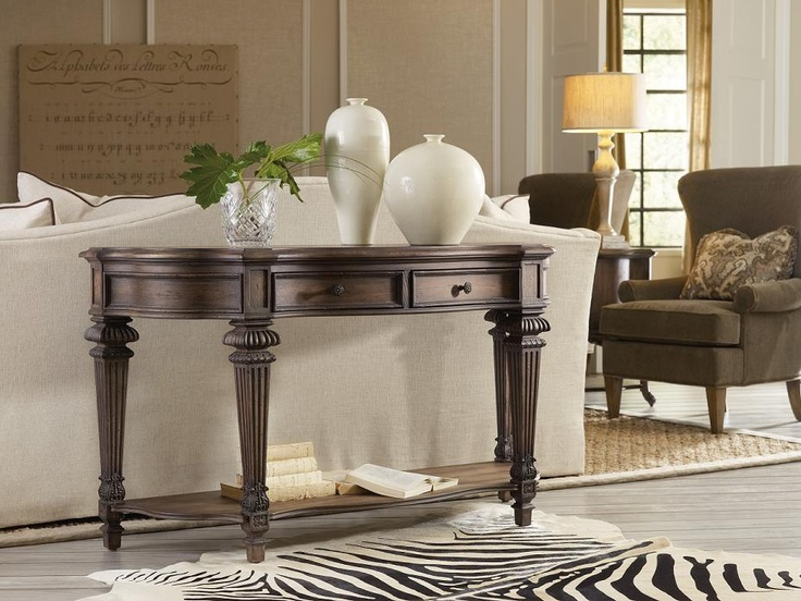 Hooker Furniture Rhapsody Sofa Table   Console Tables At Hayneedle
