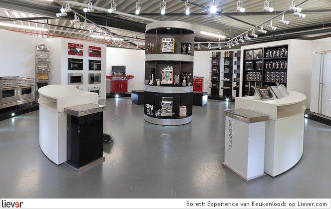 Boretti Experience Center bij Keukenloods XXL Zaandam om de merkbeleving van Boretti optimaal te ervaren http://www.keukenloods.nl/keukens/showroom/21?utm_source=Liever_medium=Referral_campaign=boretti_experience