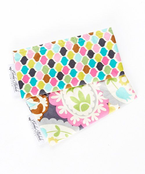Look at this Pretty Paisley Snack Bag Set on #zulily today!