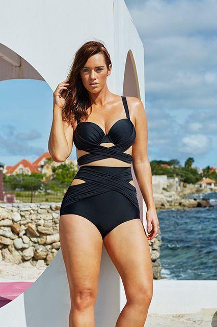 Meagan gut im Bikini