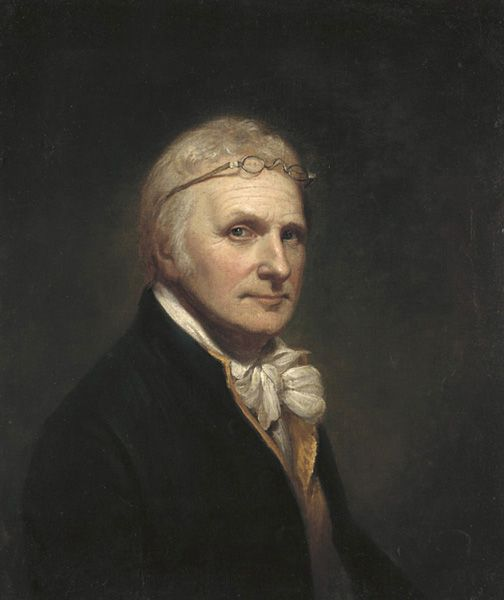 Charles Wilson Peale self-portrait, 1804: