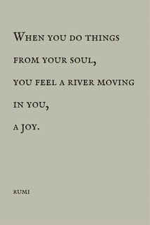 flow along with the river inside you