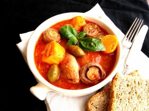 Csirkés-zöldséges egytálétel Jamie Oliver módra