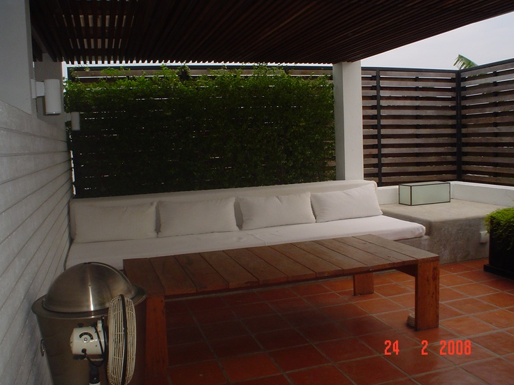 Couch on Terrace, Hua Hin, Thailand