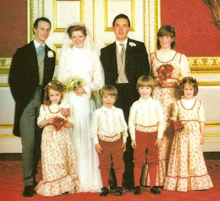 Family Picture Ideas For Wedding: Lady Jane Spencer's Wedding