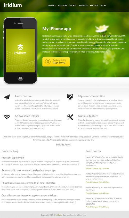 Iridium - Free Wordpress themeFree Wordpress, Web Design, Wordpress Webdesign, Wordpress Theme, Website Templates, Favorite Website, Website Design, Design Web, Theme Options