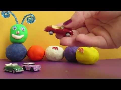 Авто Гусеница   Открываем сюрпризы  Auto Caterpillar  Open the surprises