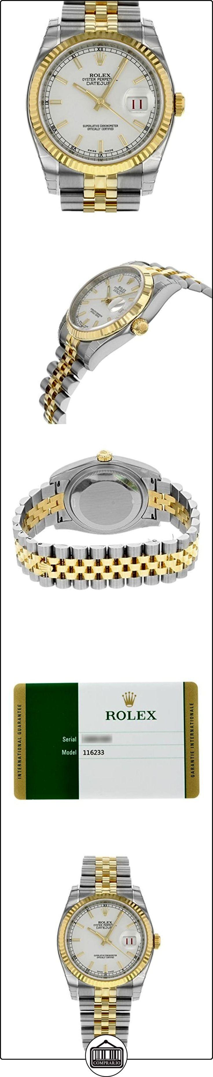 Rolex 116233WSJ - Reloj para mujeres  ✿ Relojes para mujer - (Lujo) ✿