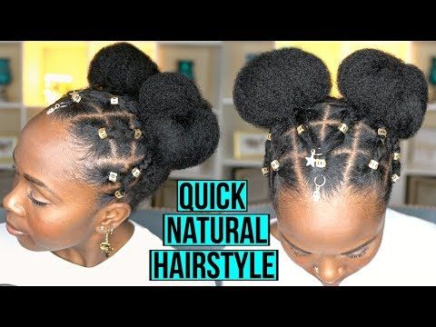 Easy Protective Hairstyle For Fast Hair Growth And Length