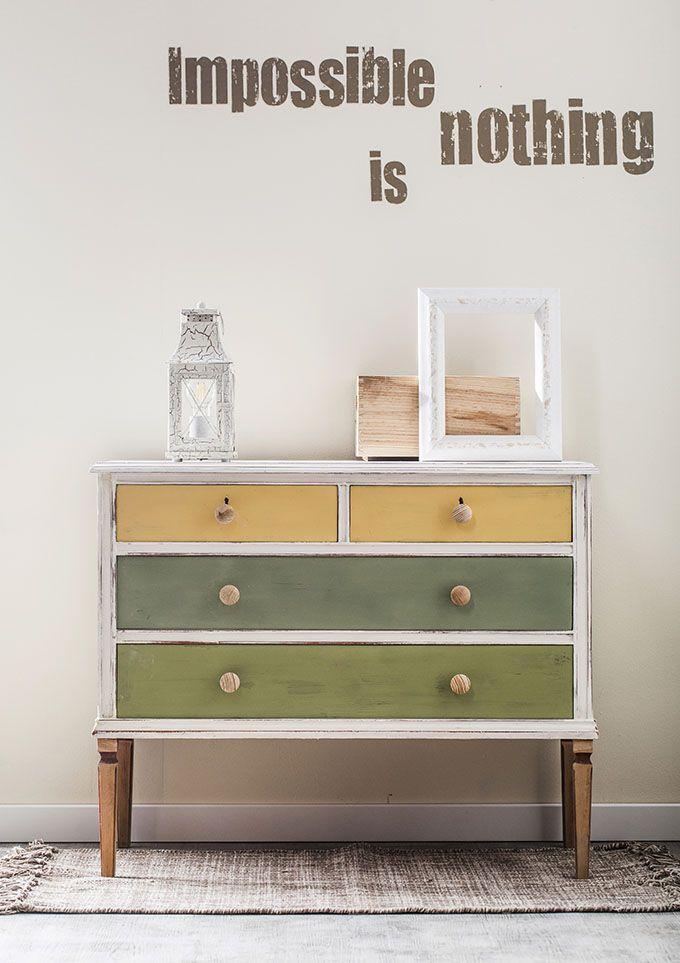 17 mejores ideas sobre muebles de pintura de tiza en for Pintura de muebles