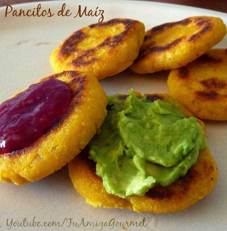 Aprende a preparar unos deliciosos pancitos de maíz y calabaza con esta #receta. Son una variación de las tradicionales arepas venezolanas. Muy ricas, saludables, #singluten y #sinlacteos