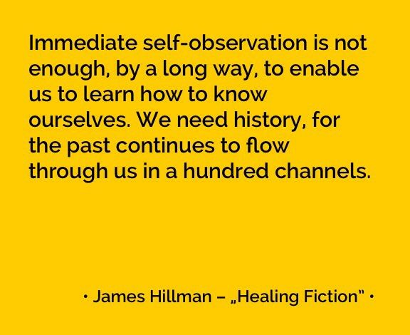 James HIllman on the importance of history  More quotes: http://e-jungian.com/category/resources/quotes-resources/
