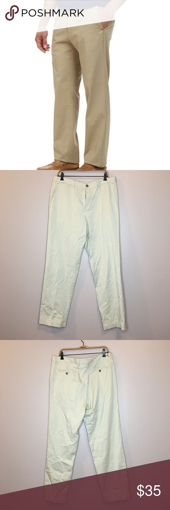 Tommy Bahama Men's Beige Pants 36x32 Like new Tommy Bahama Men's Khaki beige pants in size 36x32. Materials: 52% cotton, 45% Tercel lyocell, 3% spandex Tommy Bahama Pants Chinos & Khakis