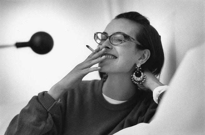 Carole Bouquet. Marc Riboud.