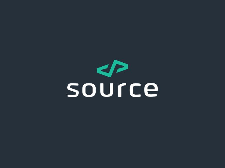 This is a logo for the great guys at https://madebysource.com/.  Can you spot some coding symbols out here?
