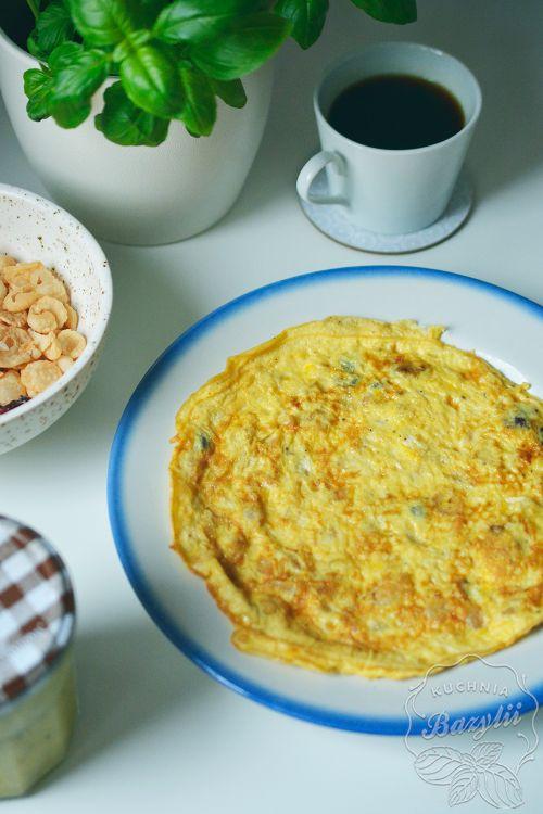 omlet-z-platkami-ryzowymi