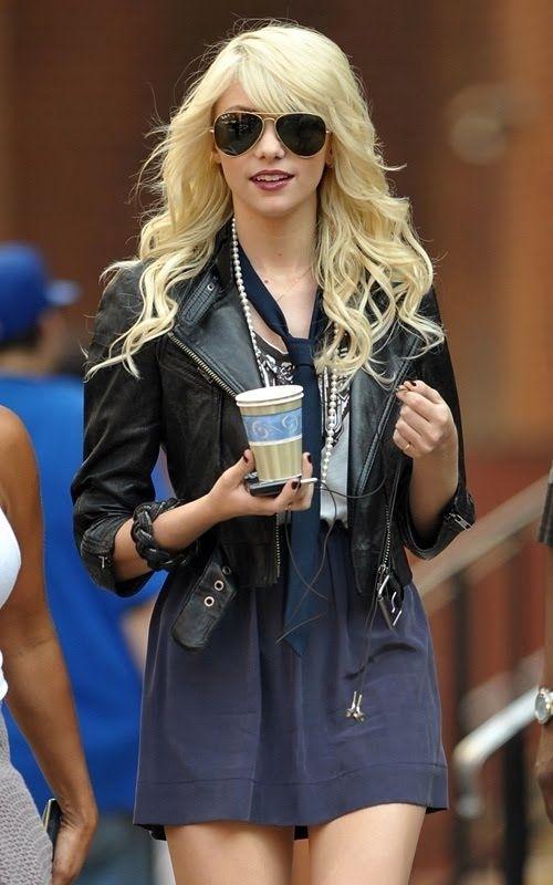 Rocker Chic - 7 Streetstyle Looks from Gossip Girl to Recreate ... → Streetstyle