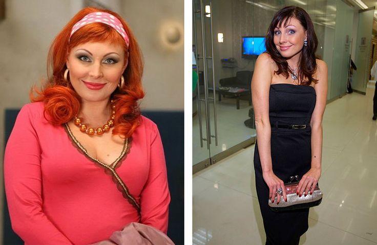 бока до и после похудения