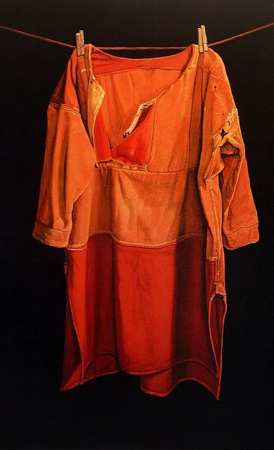 This is actually a painting by Jopie Huisman, but I want to wear it! Maybe a remade clothing project.