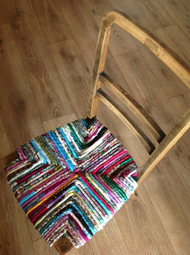 Rag Chairs - Sarah Perry | Cowslip Workshops
