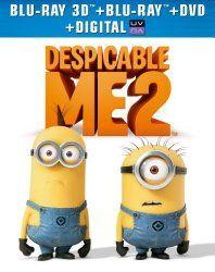 Despicable Me 2 (3D Blu-ray + Blu-ray + DVD + Digital Copy + UltraViolet)