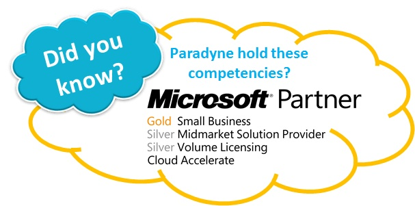 Share point is cloud based technology that help to share data and documents online with clients. Paradyne offer partner services with Microsoft Office 365 and cloud technology. We have team of expert consultants that includes 2 x Microsoft MVP, v-TSP and book author.