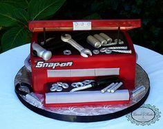 "Grooms cake - ""Snap On Tools"" Toolbox"