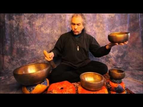 ▶ Meditation/2nd Chakra with Tibetan Singing Bowls .wmv - YouTube