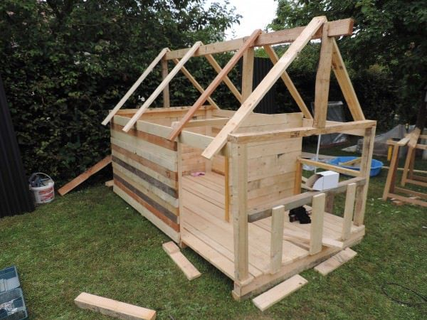 1000 ideas about pallet kids on pinterest pallet fort - Maison de jardin enfant ...