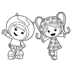 team umizoomi birthday coloring pages - photo#18