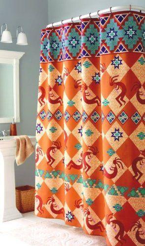 Kokopelli Southwest Indian Bath Fabric Shower Curtain Home Trends http://www.amazon.com/dp/B001VSJTVG/ref=cm_sw_r_pi_dp_bZQgub011W5JV
