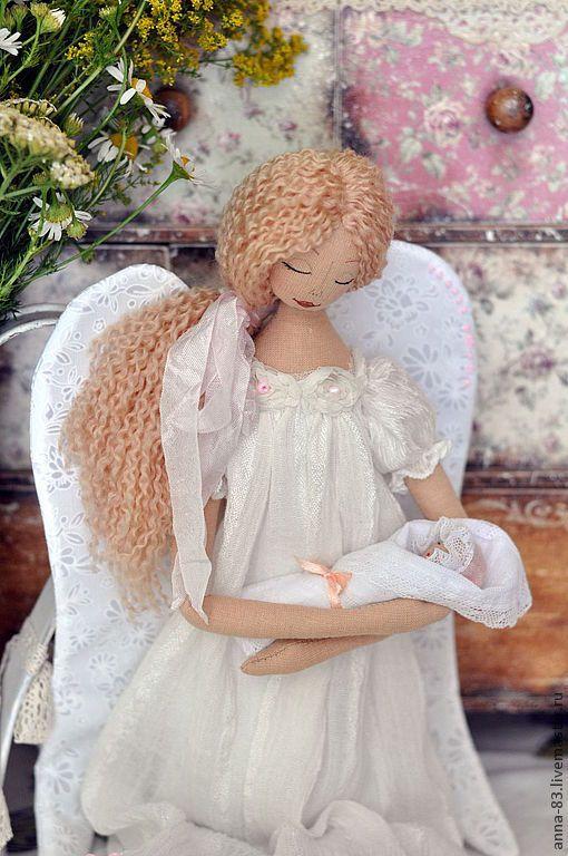 Купить Все мамы - Ангелы! - белый, ангелочек, ангел, материнство, мать и дитя, натуральные