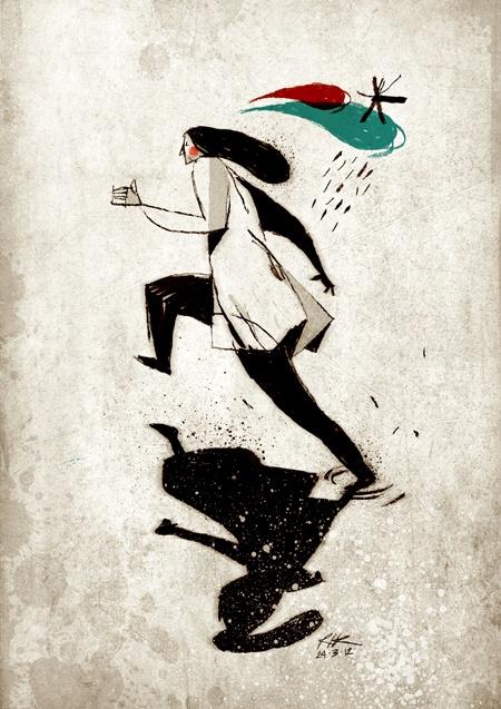 The Jump, 2008-2011, Riccardo Guasco, Illustrator & Art Director.