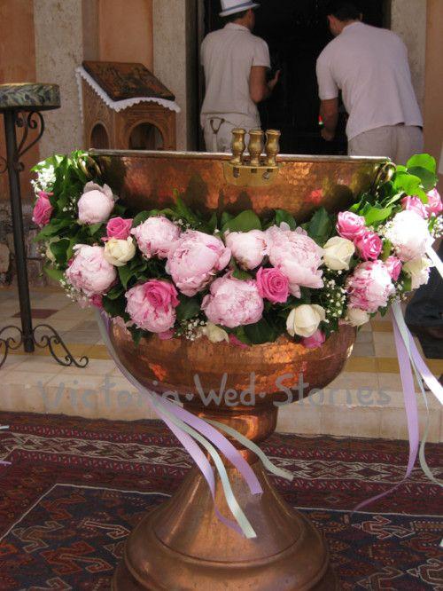 Διακόσμηση εκκλησίας βάπτισης - Victoria Wed Stories