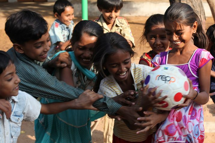 Blog - Fair Trade for Fair Play - One man's mission to make a difference to protect the planet and the people that live on it. | Littleville.com.au  Rrepp is a Fair Trade licensed company with environmental sustainability and social justice at the core of it's mission. rrepp proudly source all materials, and produce and sell balls for Soccer, Futsal, Netball, Aussie Rules, Rugby Union and League. And every stage of the process is hand on heart ethical and certified Fair Trade.