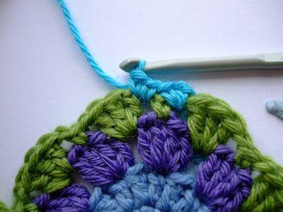 FIFIA CROCHETA blog de crochê : crochê, quadradinho fácil para iniciantes, com tutorial