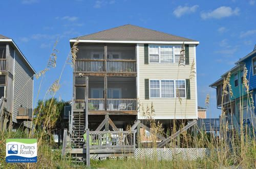 At Ease Too – Garden City Beach Rental Bedrooms: 6   Baths: 6 Full   Accommodates: 16   Oceanfront   218 North Waccamaw Drive   Ocean Front (North)   0.1 mi North of Garden City Pier