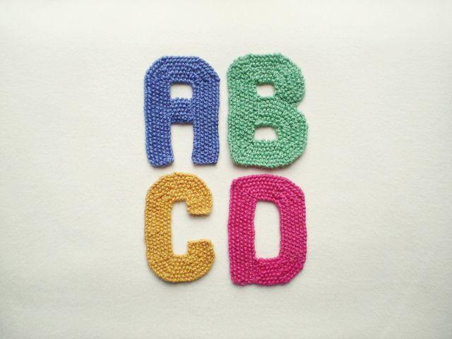 Knitting Patterns Letters Free : alphabet, free knitting pattern Knit Pinterest