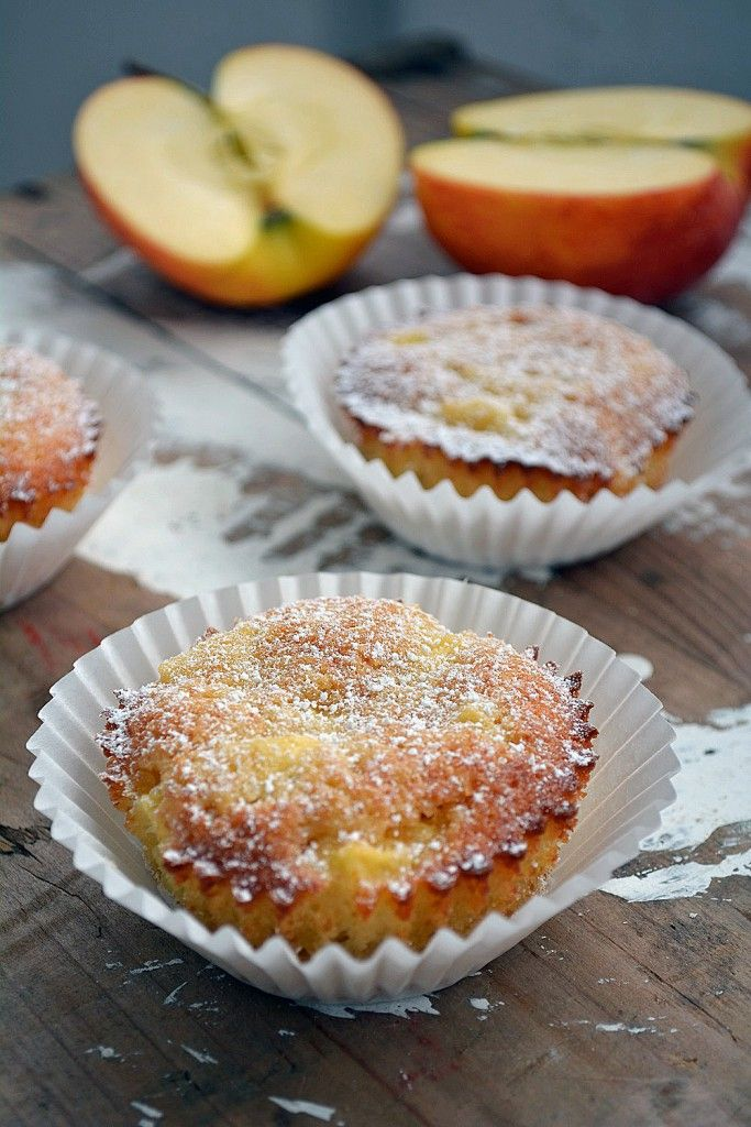 Marzipan-Apfel Muffins 3-2