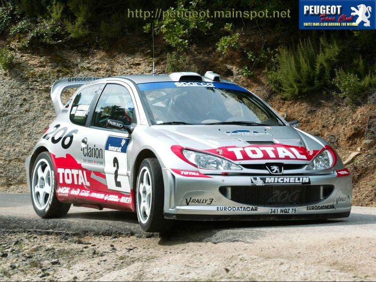 42 best peugeot 206 wrc images on pinterest | peugeot, rally car